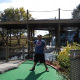 Putt Putt on vacation!